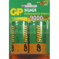 Akumulator D/R20 9000mAh 10.8Wh NiMH 1.2V GP Battery 34.2x61.5mm B2