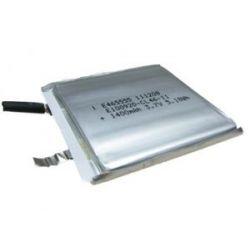 Akumulator pryzmatyczny LP465555 1400mAh 4.6Wh Li-Polymer 3.7V 4.6x55x55mm Bluetooth