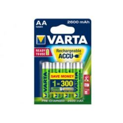 Akumulator AA/R6 2.6Ah 3.1Wh NiMH 1.2V Varta ready2Use B4