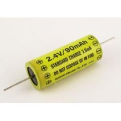 Akumulator N-SB2 Sanyo 90mAh 0.2Wh NiCd 2.4V 15.5x38.5mm Bluetooth