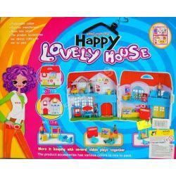 domek dla lalki z dźwiękiem  zestaw 2 opakowania