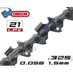 Łańcuch tnący OREGON 21LPX do piły NAC 72 ogniw .325 1,5mm 072E - PEŁNE DŁUTO