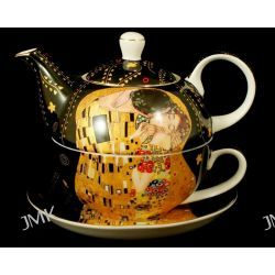 TEA FOR ONE BIG POCALUNEK BLACK GUSTAW KLIMT