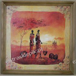 Obraz 27x27cm. afryka Antyki i Sztuka