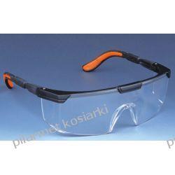 Okulary ochronne do pracy w ogrodzie i w warsztacie.