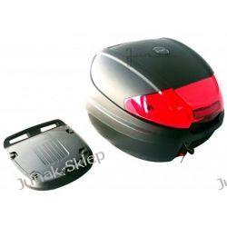 Kufer JUNAK 0830 czarny z odblaskiem-pojemność 30L.