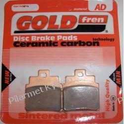 Klocki hamulcowe renomowanej marki GOLDFREN AD do KYMCO ATV MXU 250 / Maxxer 250|300 na tył.