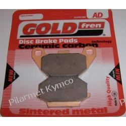 Klocki hamulcowe renomowanej marki GOLDFREN AD do KYMCO ATV MXU / MX'er 150 na tył.