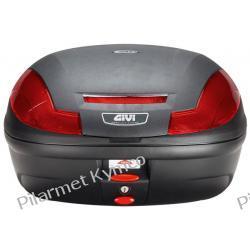 Kufer włoskiej marki GIVI E470 Monolock Simply III + płyta montażowa.