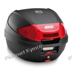Kufer włoskiej marki GIVI E300N2 Monolock + płyta montażowa.