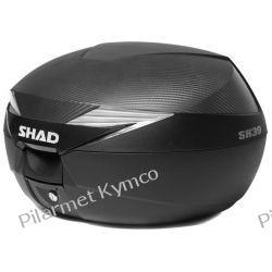 Kufer SHAD SH39 Carbon Top Cases + płyta montażowa.
