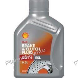 Shell Brake & Clutch Fluid DOT-4 - płyn do hydraulicznych układów hamulcowych.