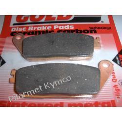 Klocki hamulcowe renomowanej marki GOLDFREN AD do KYMCO Xciting 500 / MyRoad 700i.