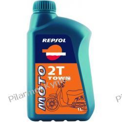 Olej silnikowy REPSOL Moto Town 2T - olej do silników dwusuwowych.