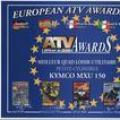 Europejska nagroda ATV dla KYMCO MXU 150