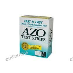 Azo, Urinary Tract Infection Test Strips, 3 Tests
