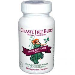 Vitanica, Chaste Tree Berry, Vitex Extract Plus for Women, 60 Veggie Caps