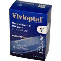 Vivioptal, Protect for Men, Multivitamin & Minerals, 60 Capsules