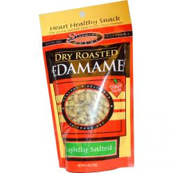 Seapoint Farms, Dry Roasted Edamame, Lightly Salted, 4 oz (113 g)
