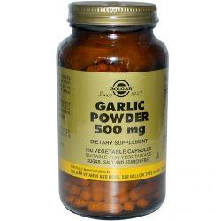 Solgar, Garlic Powder, 500 mg, 180 Veggie Caps