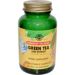 Solgar, Green Tea Leaf Extract, 60 Veggie Caps