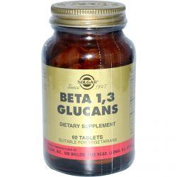 Solgar, Beta 1,3 Glucans, 60 Tablets