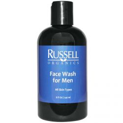 Russell Organics, Face Wash for Men,  8 fl oz (240 ml)
