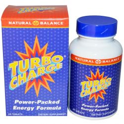 Natural Balance, Turbo Charge, 60 Tablets