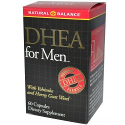 Natural Balance, DHEA for Men, 60 Capsules