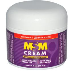 Natural Balance, MSM Cream, 2 oz (56.7 g)