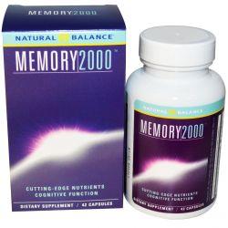 Natural Balance, Memory 2000, 42 Capsules