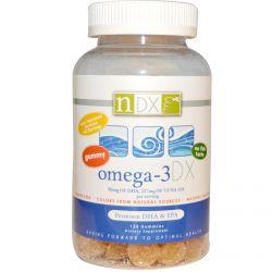 Natural Dynamix, Omega-3 DX, 120 Gummies