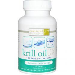 Natural Dynamix, Krill Oil DX, 1000 mg, 60 Softgels