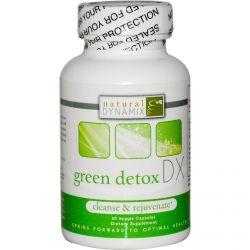 Natural Dynamix, Green Detox DX, 60 Veggie Caps