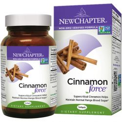 New Chapter, Cinnamon Force, 60 Softgels