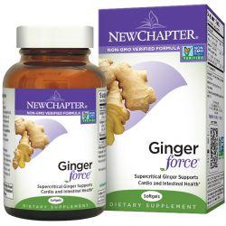 New Chapter, Ginger Force, 60 Softgels