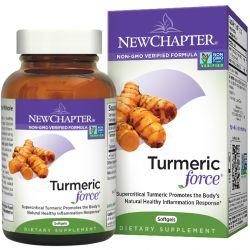 New Chapter, Turmeric Force, 60 Softgels