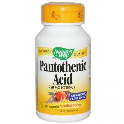 Nature's Way, Pantothenic Acid, 100 Capsules
