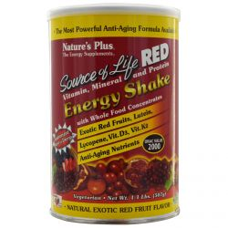 Nature's Plus, Source of Life Red, Vitamin, Mineral and Protein,  Energy Shake, 1.1 lbs (507 g)