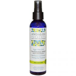 Andalou Naturals, Argan Stem Cells Thickening Spray, 6 fl oz (178 ml)
