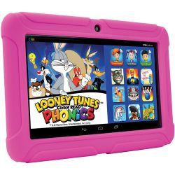 """ClickN Kids 8GB Tablet 2 7"""" Wi-Fi Tablet (Pink) CK07T-PK-8"""