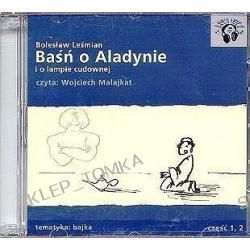 Baśń o Aladynie i o lampie cudownej część 1 i 2 - książka audio na 2 CD