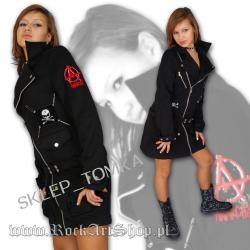 JACKET BLACK LONG QUEEN OF DARKNESS