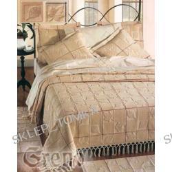 Komplet 6 częściowy: narzuta 220x260cm 2 narzuty na fotele, 2 poszewki, dywanik, liście Folhas