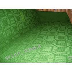 Komplet 3 narzut na łożko 170x210cm i 2 na fotele, Zielony