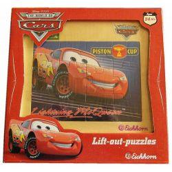 Puzzle Auta 12 elementów Eichhorn