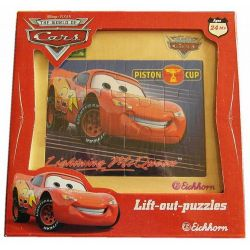 Puzzle Disney Auta 12 element.Przecena