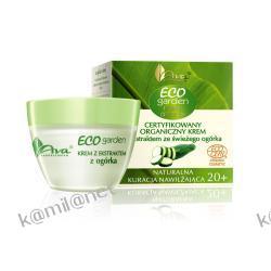 NOWOŚĆ AVA Eco Garden krem z ekstraktem ze świeżego ogórka 50 ml Ecocert