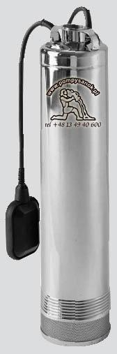Dominator 5 140/65 AUT (z pływakiem), 140/65 - 230V lub 140/65 T - 400V