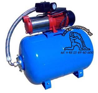 Hydrofor MH-1300 INOX ze zbiornikiem 100L 230V